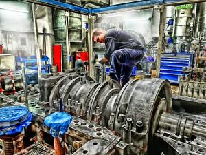 Turbinenrevision und deren Nebenanlagen